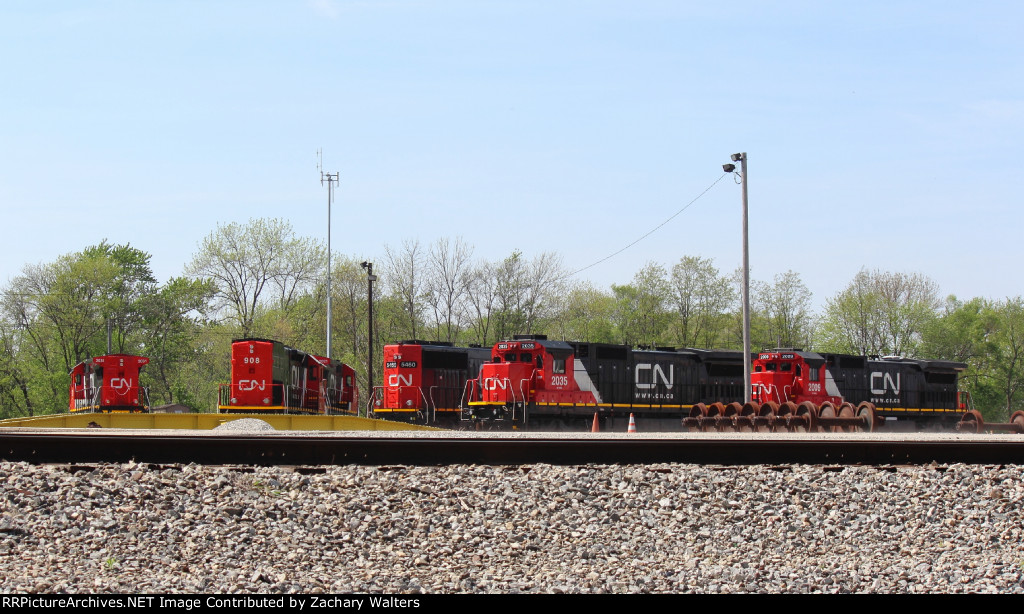 CN Roundhouse