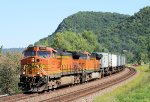 Eastbound BNSF Stack