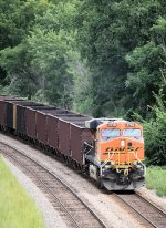 Eastbound BNSF Taconite DPU