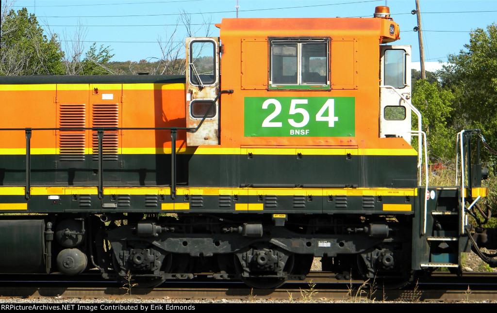 BNSF 254 Cab