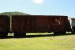 Ex. C&O boxcar at COHS