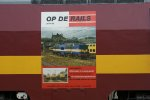 EECT 1254 with a Poster of the Dutch Railfan society.