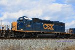 CSX SD40-2 2411 on Q275 south