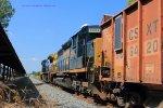 CSX 8884 (originally Pennsylvania RR 6049 blt 2/66) trails on W073 south