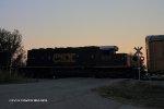 CSX 8319 trails the HLCX unit