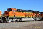 BNSF 3942 (ET44C4) at San Bernardino CA.  2/7/2016
