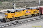 UP 7363 (AC45CCTE) West Colton CA. 1/25/2011