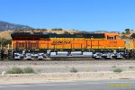 BNSF 3744 new and spotless at Verdemont CA. 6/27/2017
