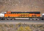 BNSF 6657 (ES44C4) at Caliente CA. 12/22/2011