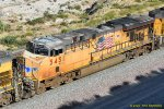 UP 5451 (AC45CCTE) in need of a new paint job at Blue Cut CA. 5/27/2020