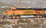 BNSF 7765 (ES44DC) at Alray-Cajon Pass CA. 2/17/2010