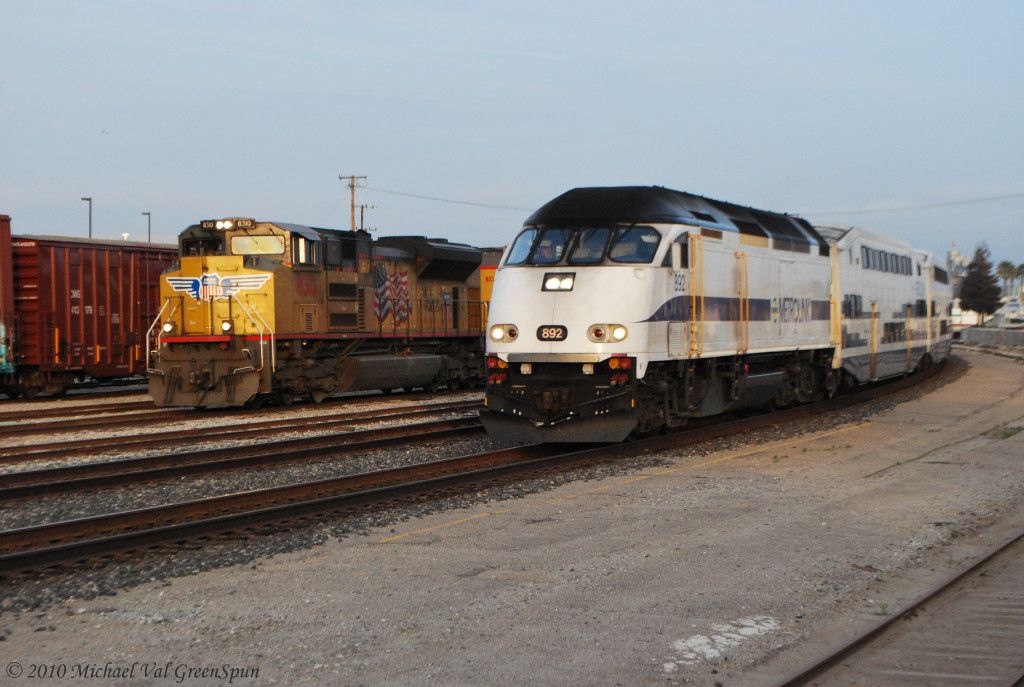 UP 8310 & SCAX 892