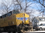 UP 7602 in Shirley, MA