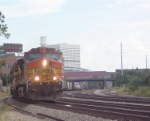 BNSF 5329 heading north to Tilford Yard