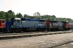 ATN 9651 and HBR 2001 reposition in ATNs yard