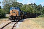 CSX coal waits for clearence to proceed