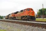 BNSF 9191 on NS Q34