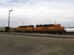 BNSF 2966 and 2266