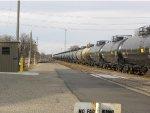 BNSF 8012 WB Snake Train