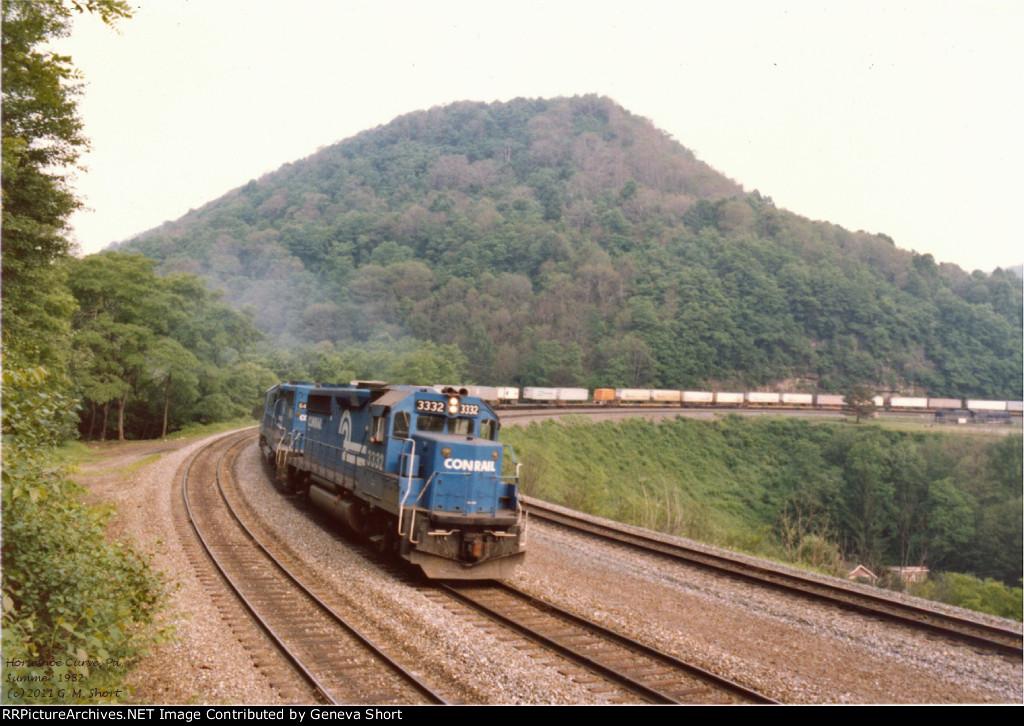 Heads: Conrail 3332 West