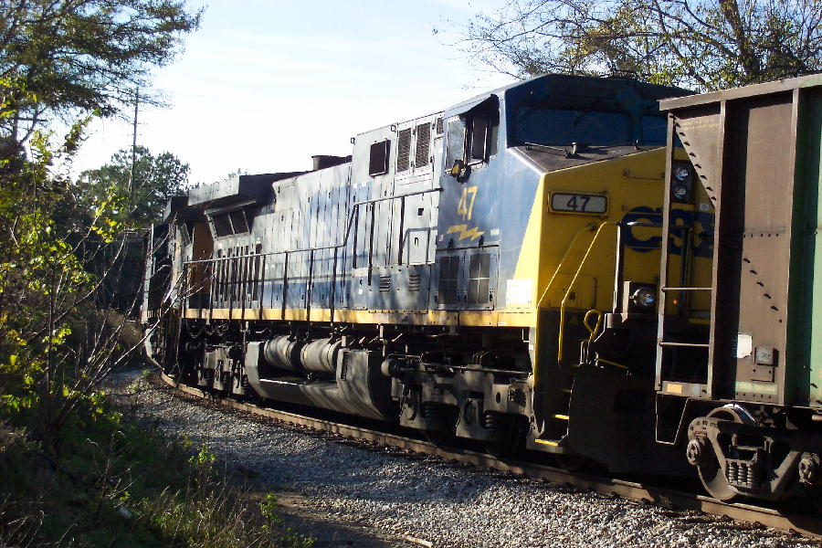 Georgia Power coal train