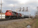 CN 8930 & 2521 lead M346 towards the BRC connection