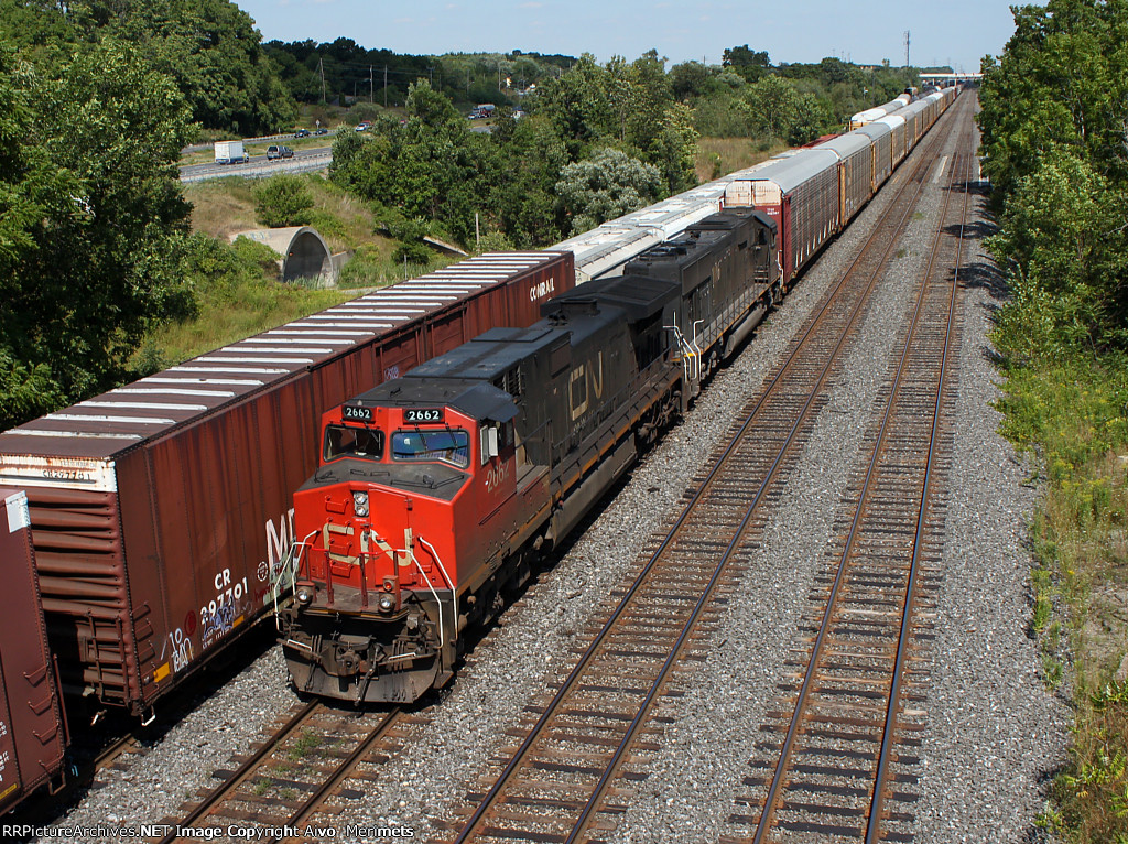 CN 435 at Aldershot.