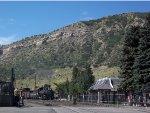 Departing Durango