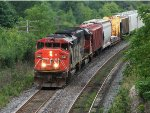 CN 5543 west at Mile 5.8 Strathroy Sub