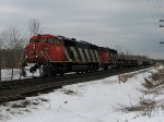 CN 5561 west at Mile 260 Kingston Sub