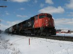 CN 5600 east at Mile 160 Kingston Sub