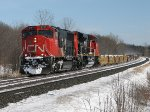 CN 5787 west at Mile 260 Kingston Sub