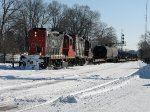 CN Naticoke steel train arrives into Brantford