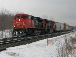 CN 8822 west at Mile 260 Kingston Sub