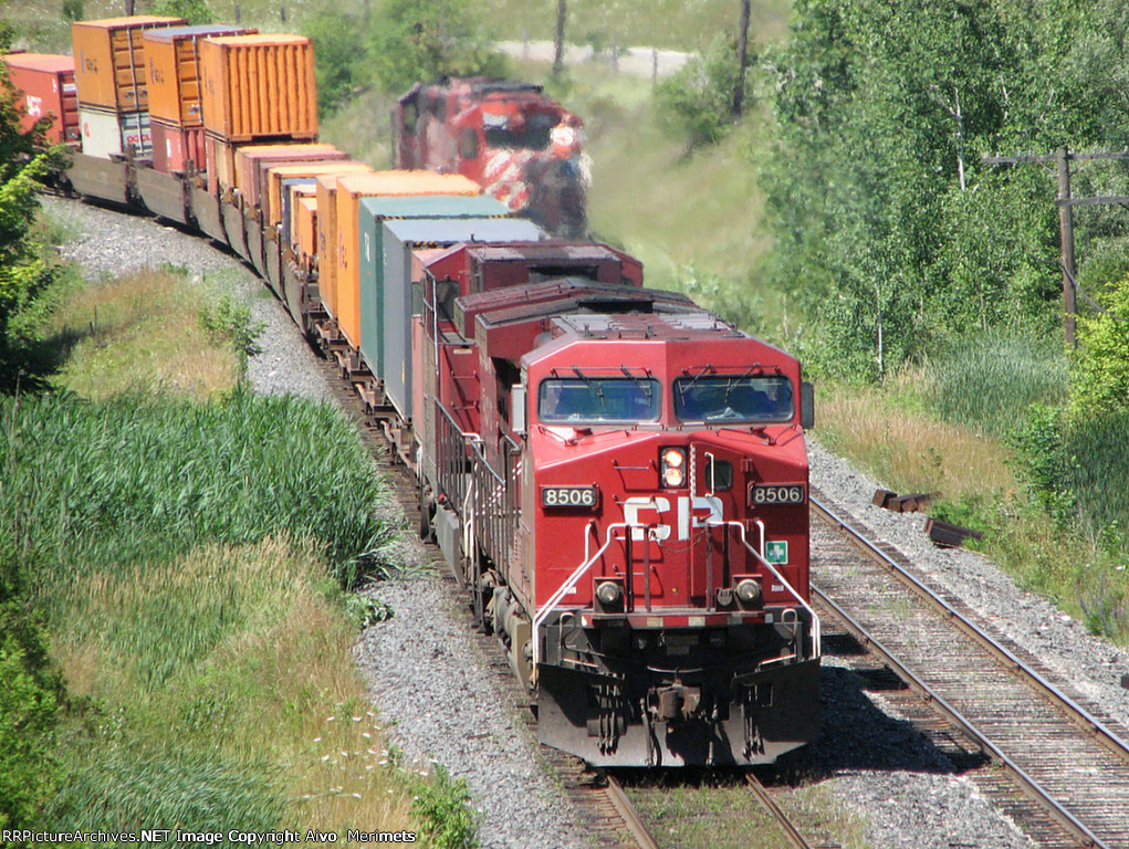 CP 8506 east at Coakley