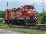 CP 8208 at Woodstock