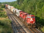 CP 8502 west at Coakley