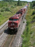 CP 8519 west at Coakley