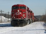 CP 8819 west at Guelph Jct
