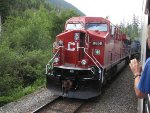 CP 8858 east at Tappen