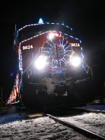 CP 2007 Holiday Train at Woodstock