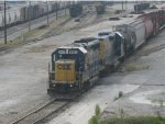 CSX Local at Tilford Yard