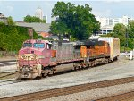 NS 237 with Santa Fe Warbonnet 669 leading