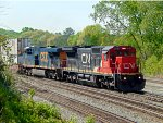 NS 290 at Howell Wye with CN & CSX GE Power
