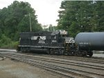 NS GP38-2 5563 & ADMX Tanker Car 29383