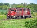 CP Ex-Boston & Maine GP40-2s