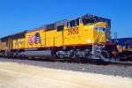 UP 3950, EMD SD70M, NEW at Global-3 Yard on 8-27-2003