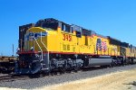 UP 3951, EMD SD70M, NEW at Global-3 Yard on 8-27-2003