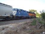 EMDX 753 and BNSF 2001