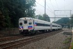 Eastbound SEPTA Training Train
